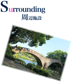 Surrounding Facilities 周辺施設